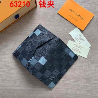 cheap quality LOUIS VUITTON Wallets 63210 Gray Monogram