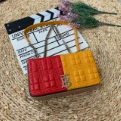 cheap quality Burberry  80211551 red yellow matching